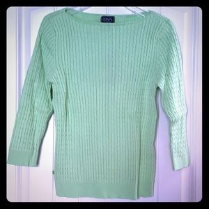 NEW - Chaps - sweater